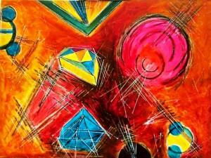 30X40 Mixed Media on Canvas